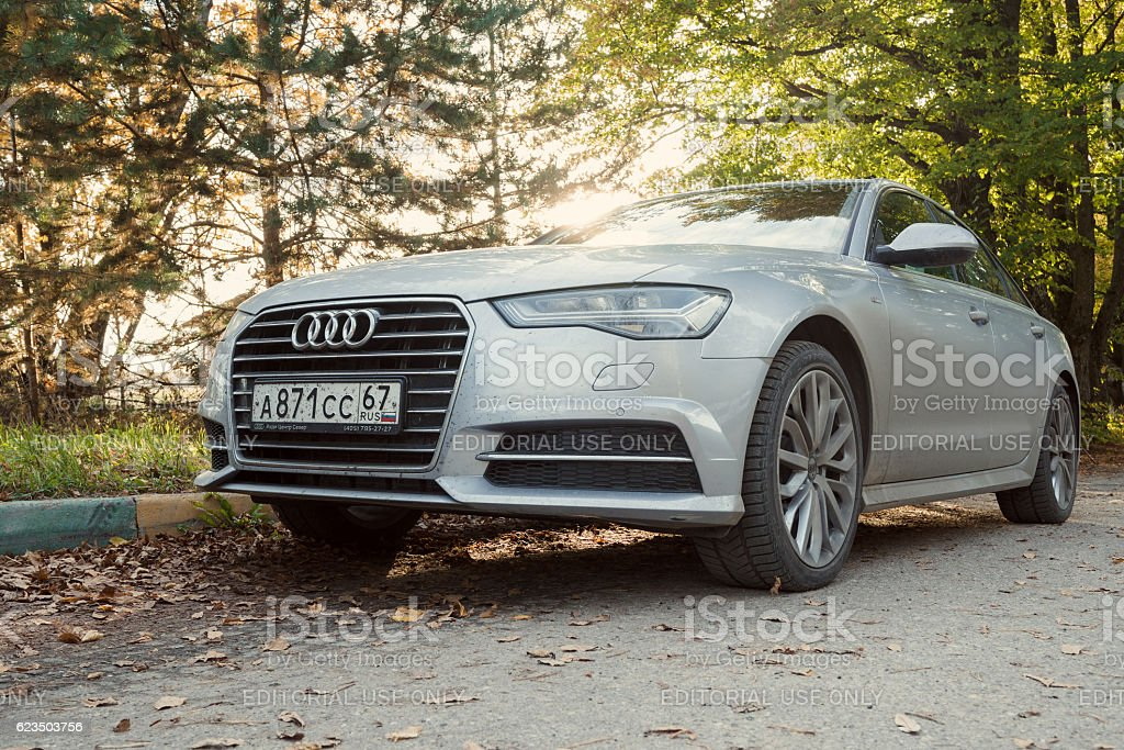Audi A6. stock photo