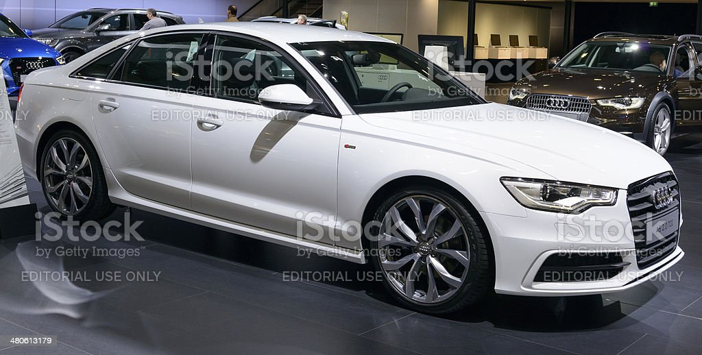 Audi A6 Berline royalty-free stock photo