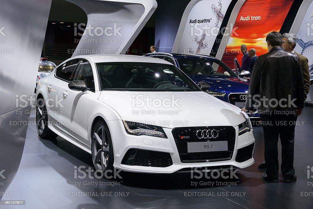 Audi RS7 Sportback royalty-free stock photo