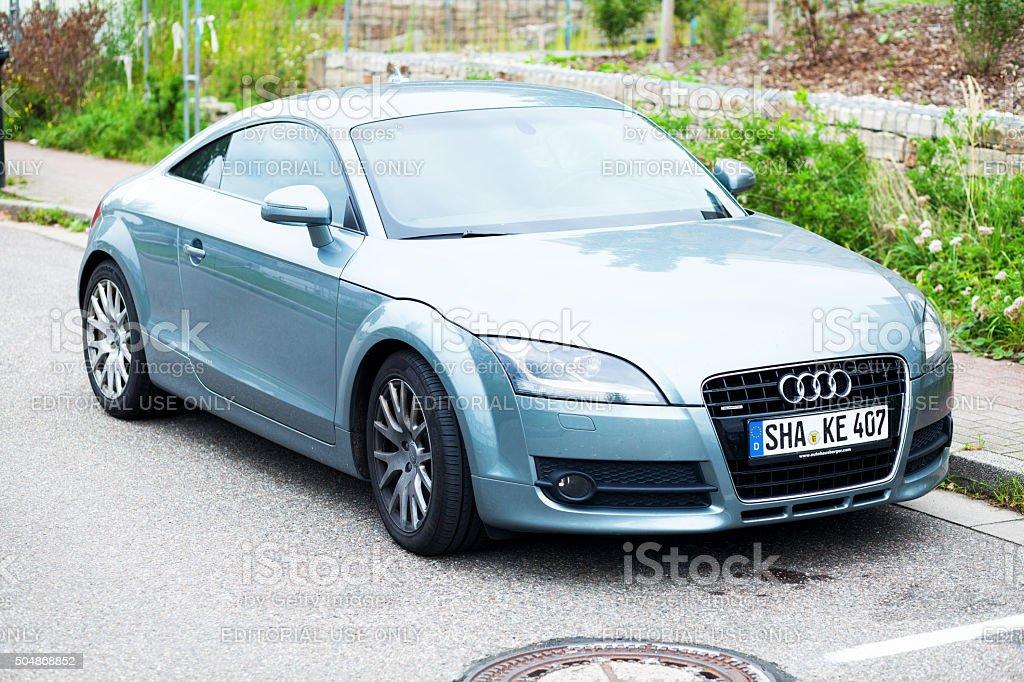Audi TT coupé stock photo
