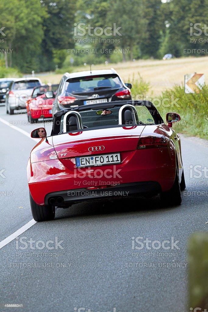 Audi TT stock photo