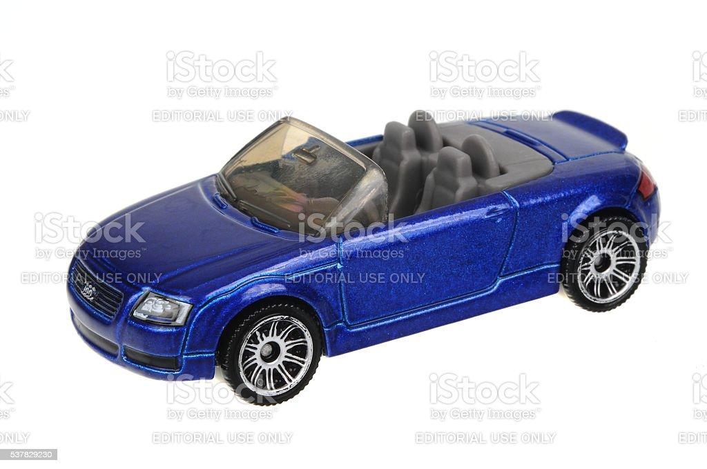 1999 Audi TT Roadster Matchbox Diecast Toy Car stock photo