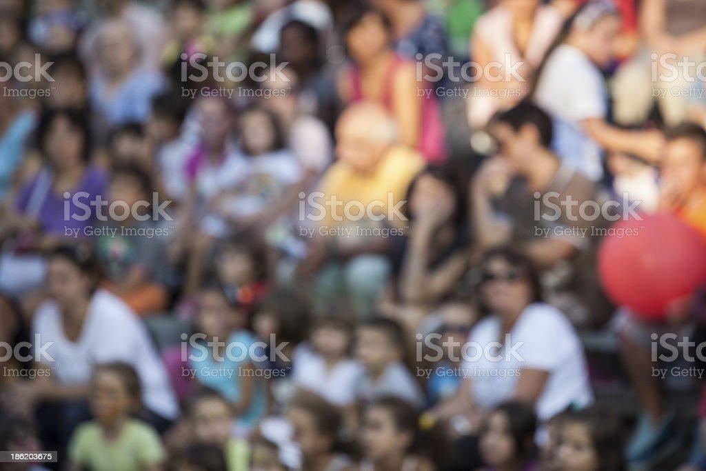 audience stock photo
