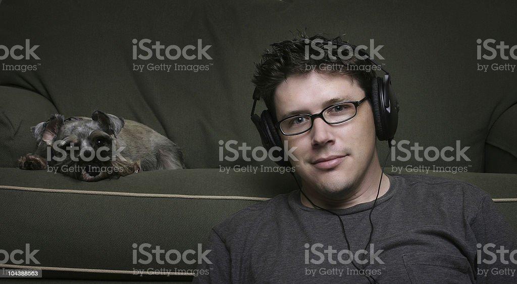 Audio 3 stock photo