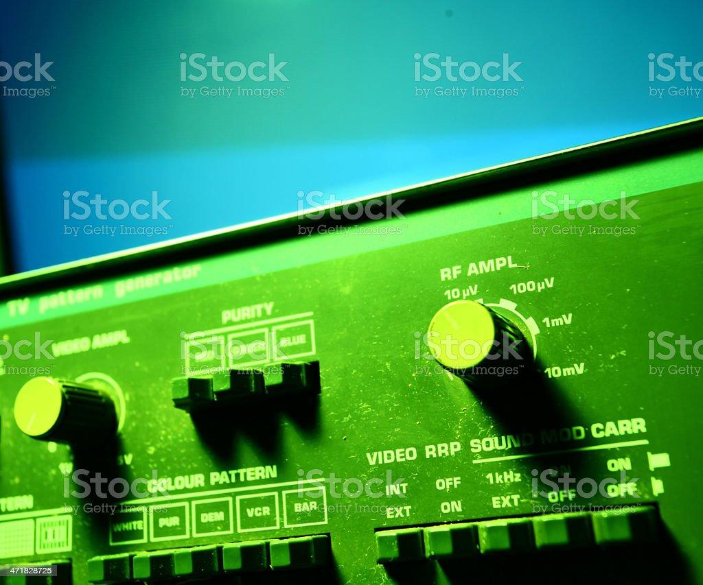 Audio amp royalty-free stock photo