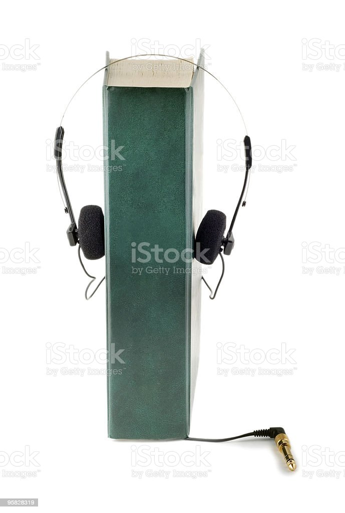 audio book royalty-free stock photo