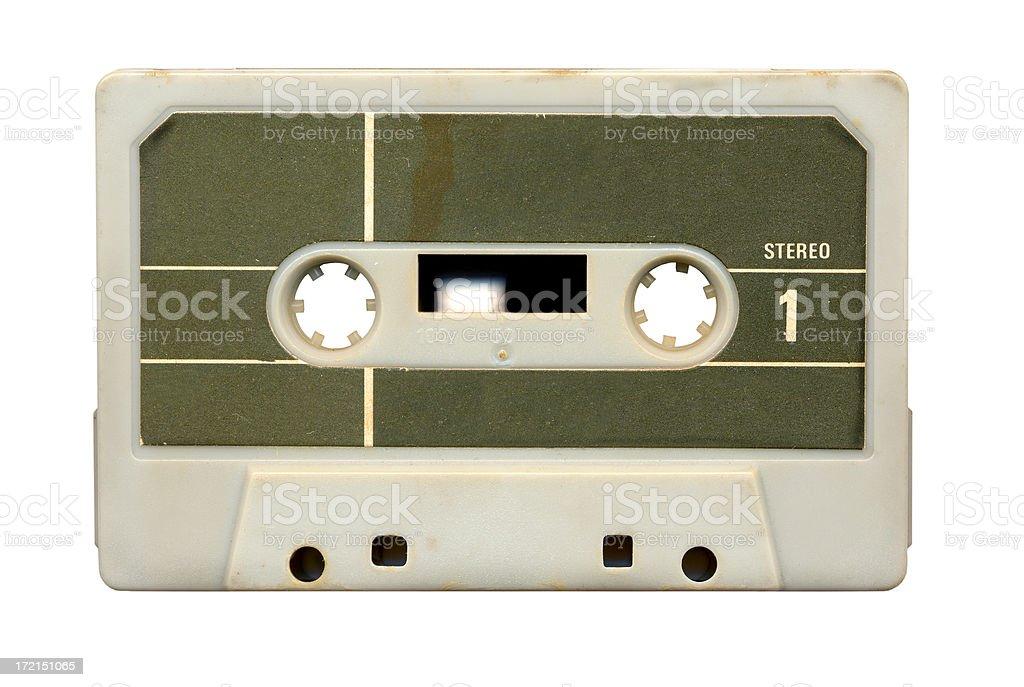 Audio cassette royalty-free stock photo