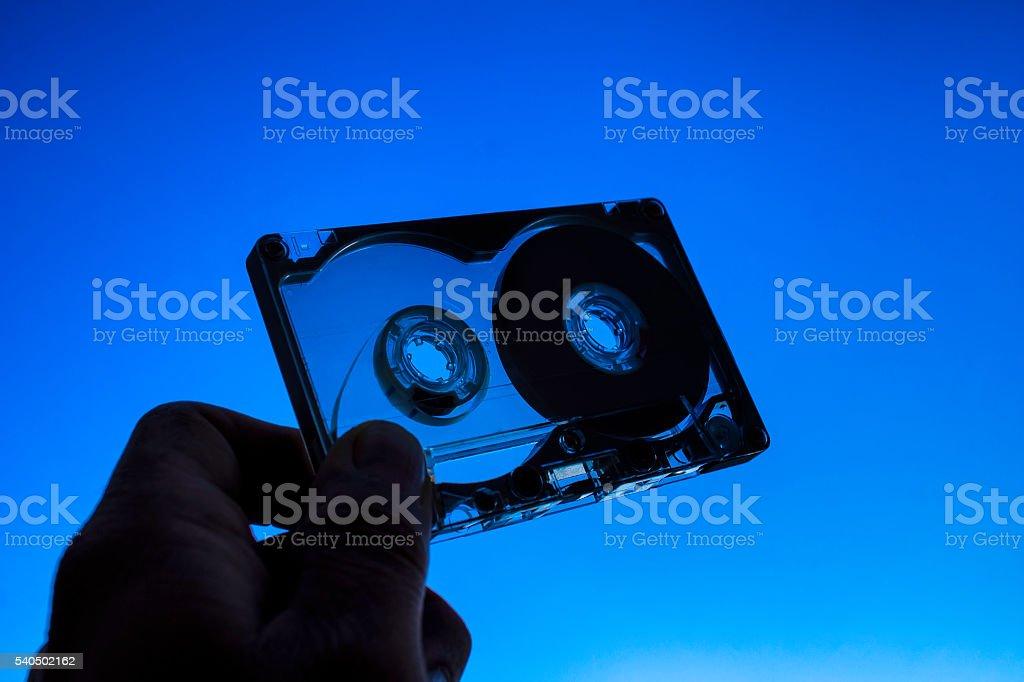 Audio Cassettes stock photo