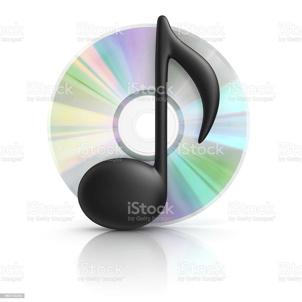 audio cd royalty-free stock photo