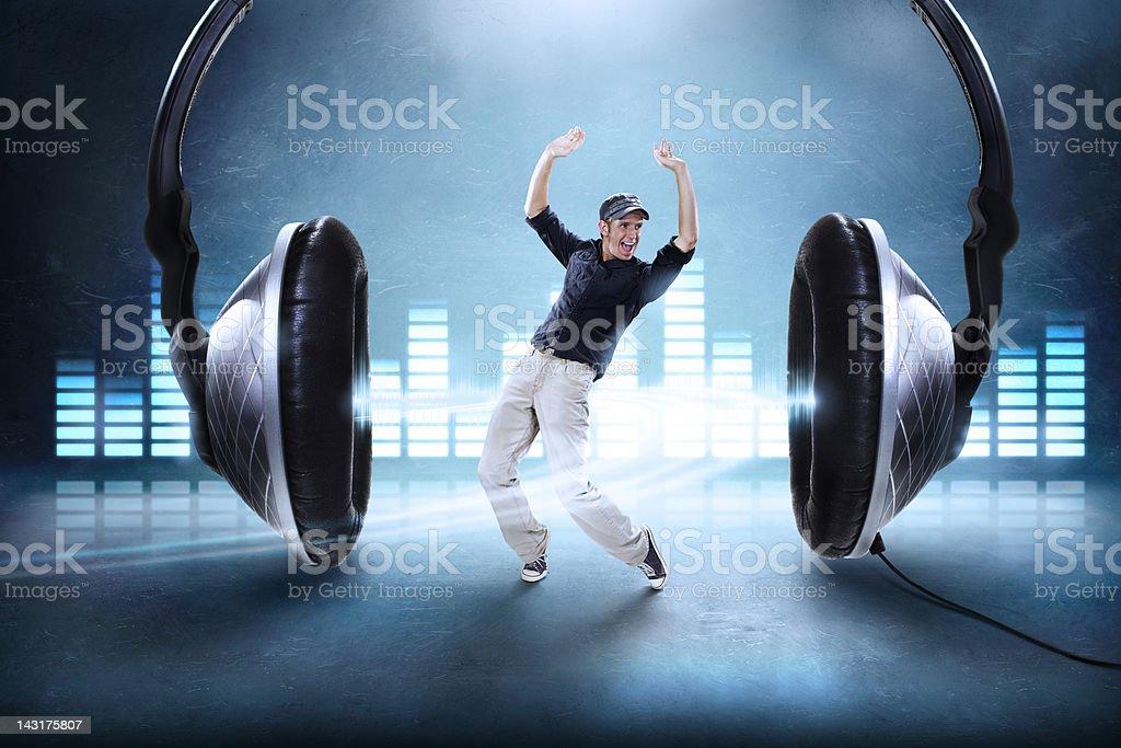 Audio Dance stock photo