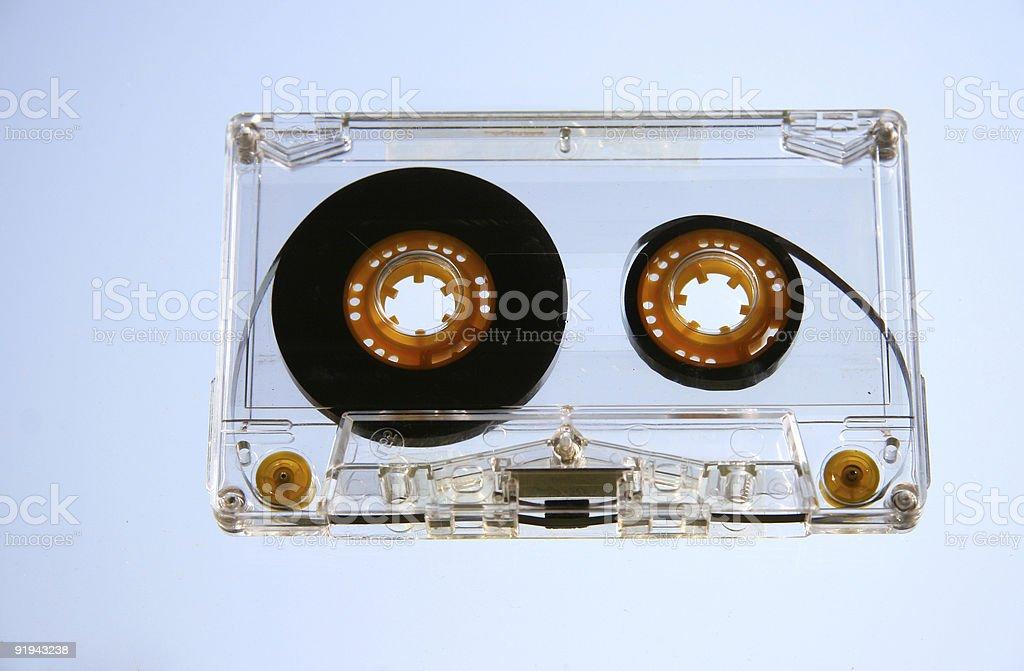Audio Demo Music Cassette Tape stock photo
