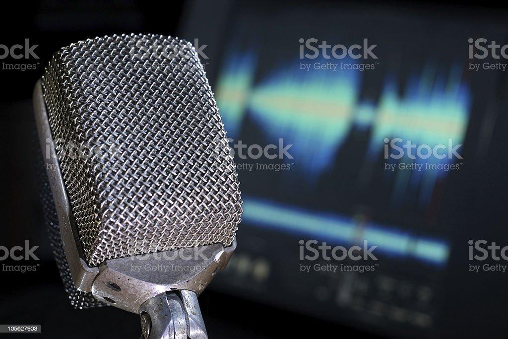 Audio Engineering stock photo