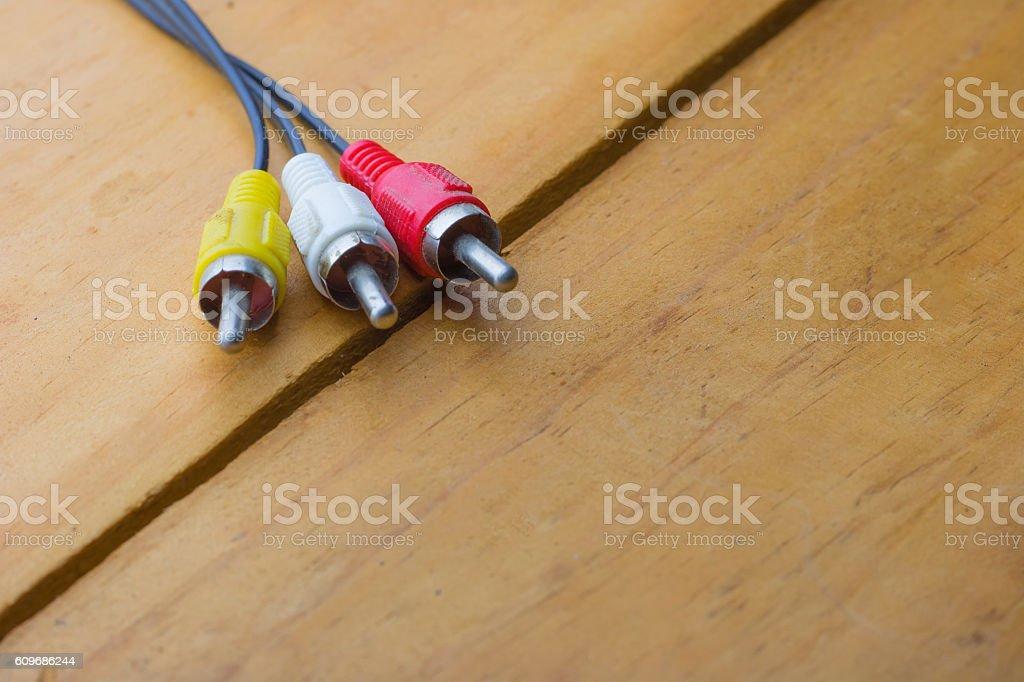 audio jack stock photo