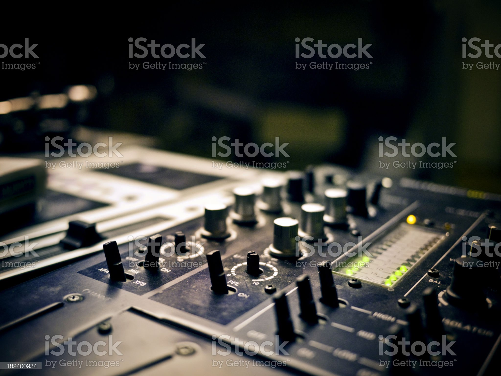 Audio royalty-free stock photo