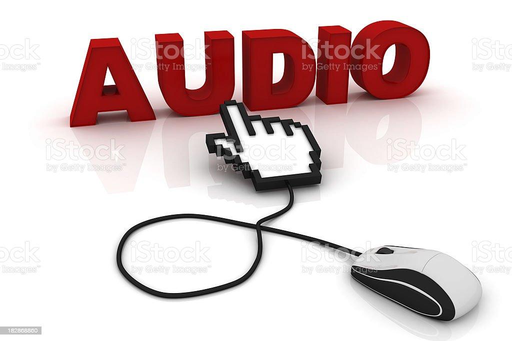 Audio stock photo