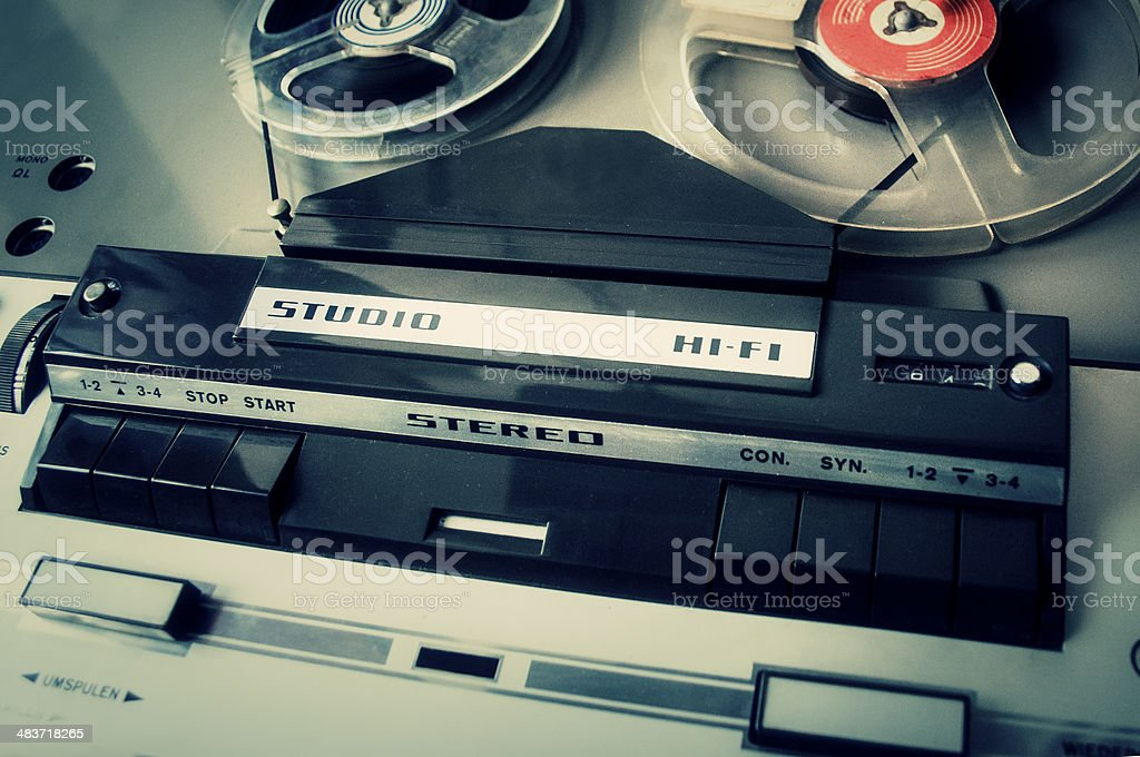 Audio Recorder stock photo