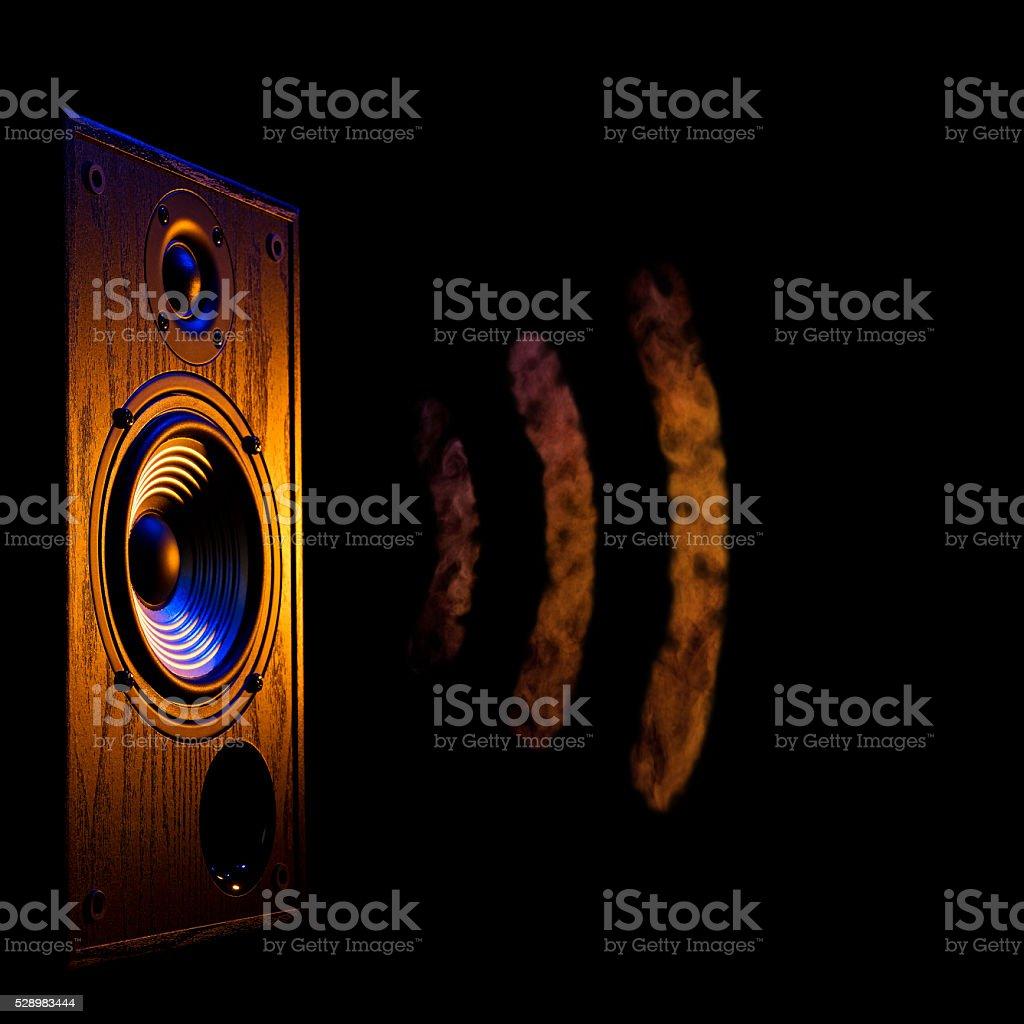 audio speaker5 stock photo