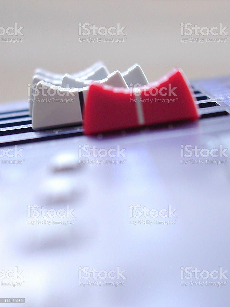 Audio Spectrum stock photo