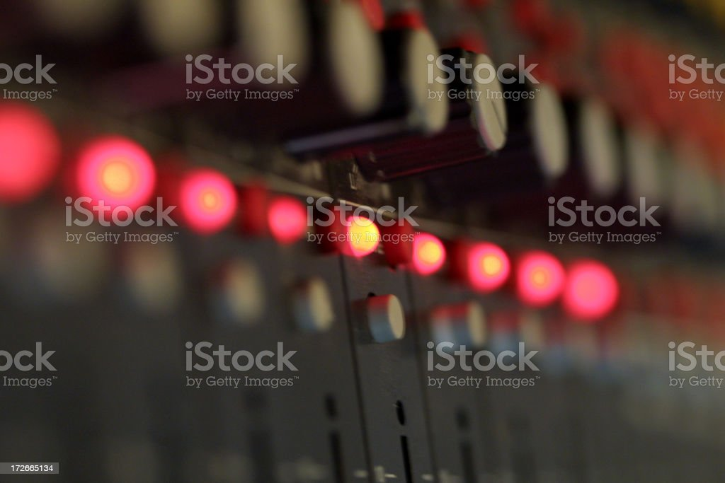 audiomix royalty-free stock photo
