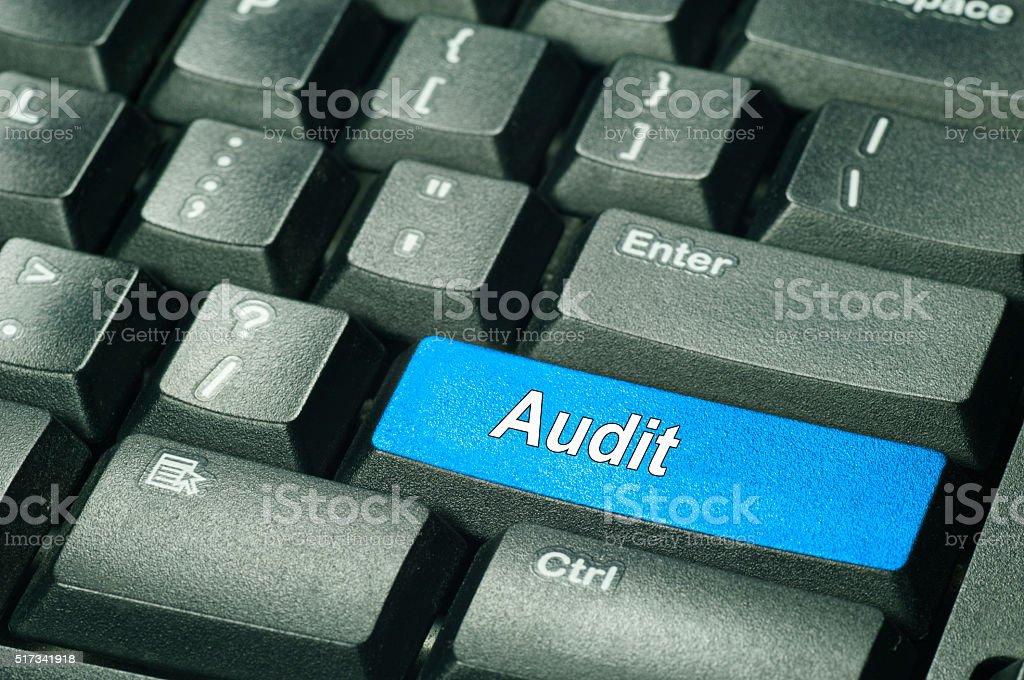 Audit - Business Concept stock photo