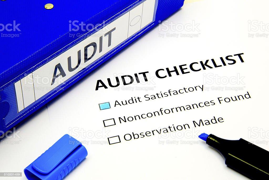 Audit stock photo