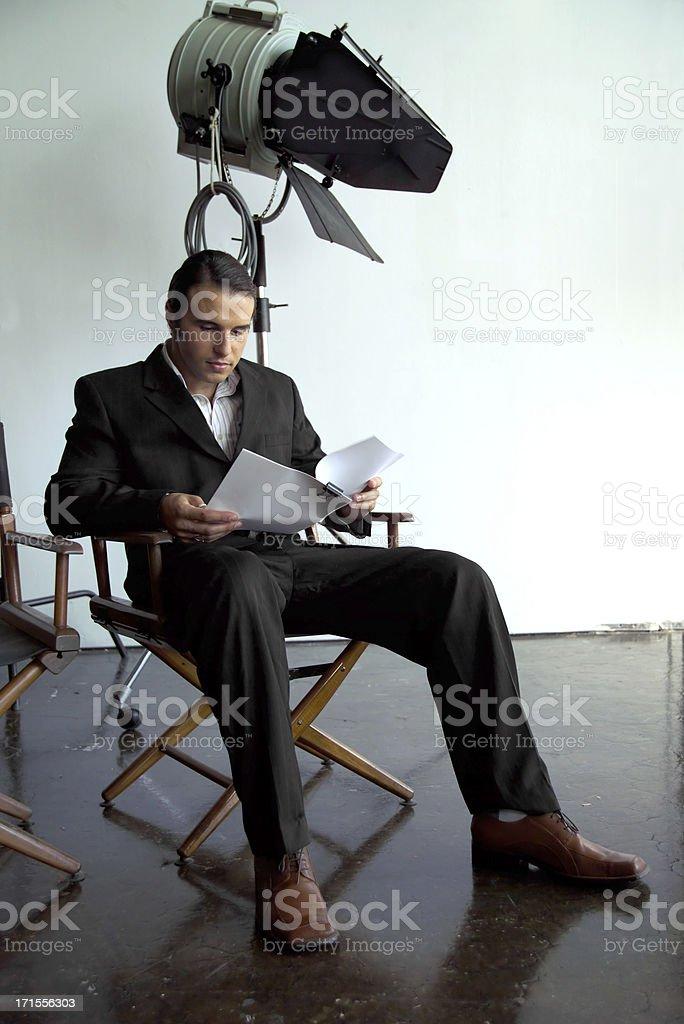 audition stock photo