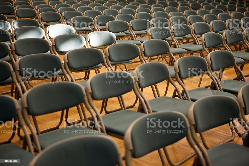 auditorium, chair, stock photo