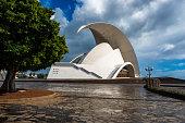 Auditorium of Tenerife in Santa Cruz de Tenerife