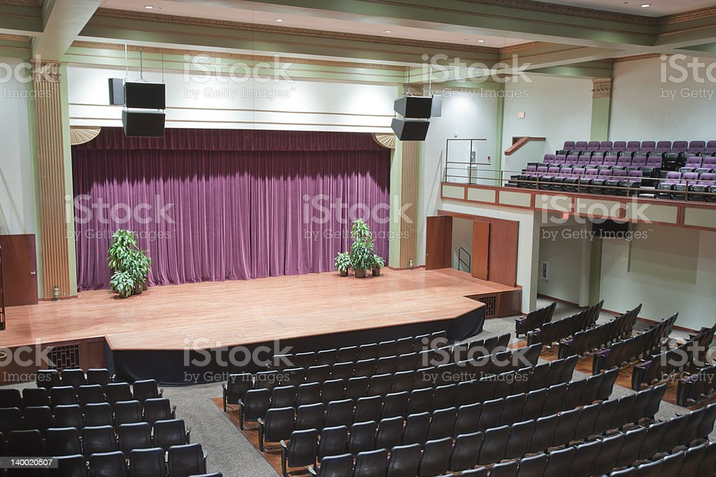 Auditorium royalty-free stock photo
