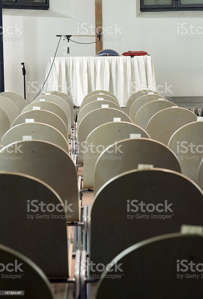 Auditorium foto stock royalty-free