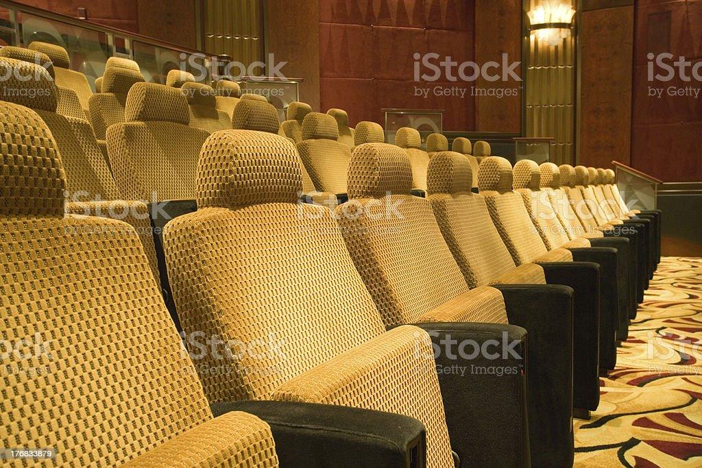 Auditorium royalty-free stock photo