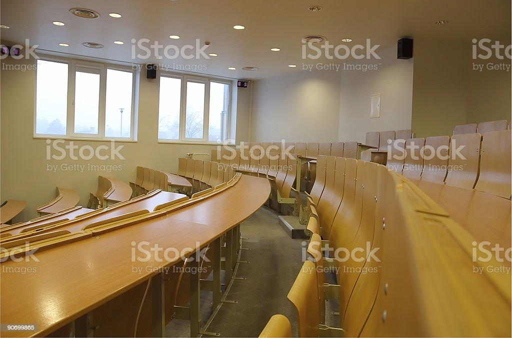 Auditorium photo libre de droits
