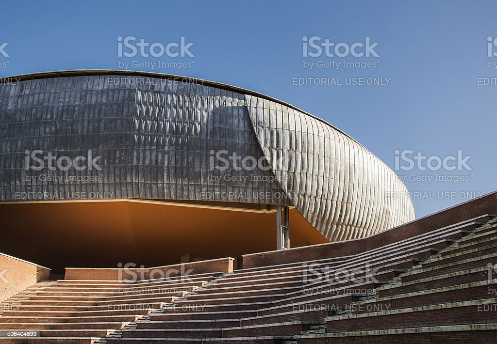 Auditorium Roma Italy stock photo