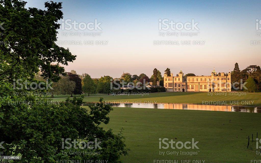 Audley End House, Saffron Walden, Essex, England stock photo
