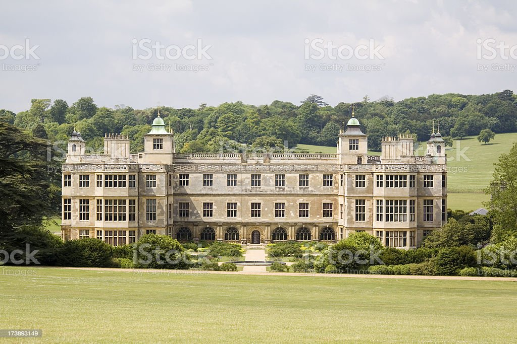 Audley End Stately Home royalty-free stock photo