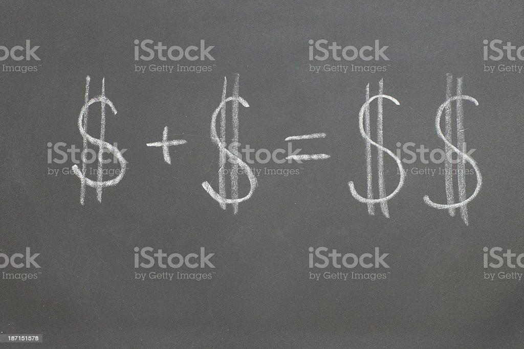 augmentation of Finance royalty-free stock photo