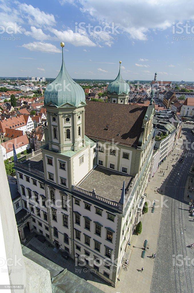 Augsburg royalty-free stock photo