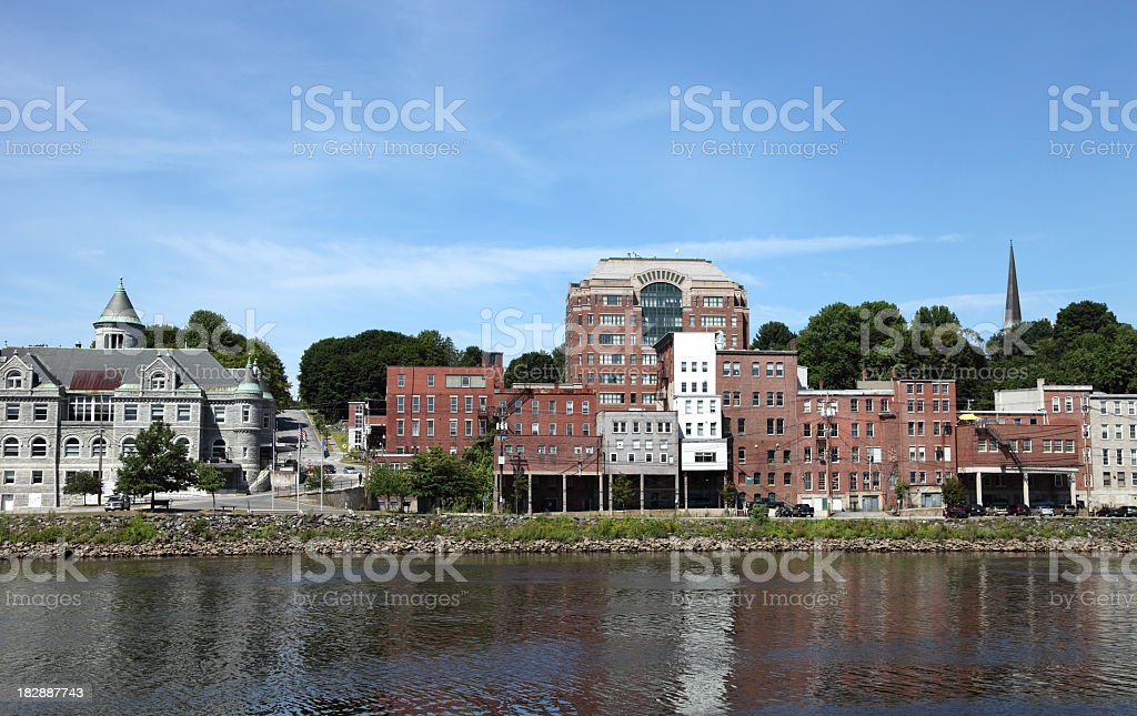 Augusta, Maine stock photo