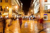 Augusta Street in Lisbon