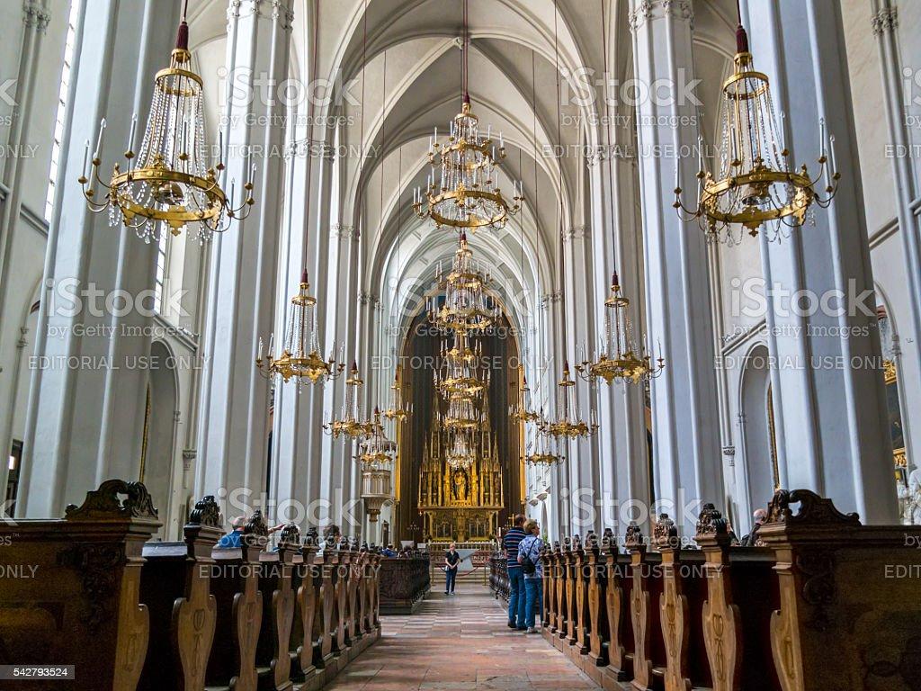 Augustine church interior, Vienna, Austria stock photo