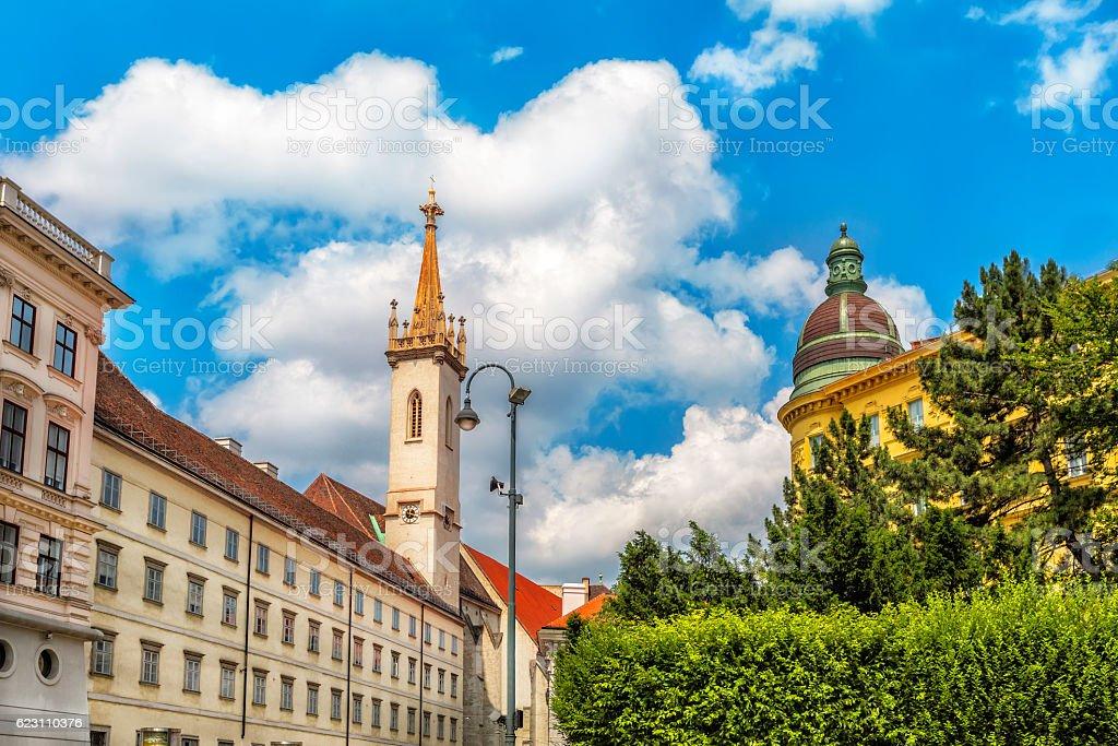 Augustinian Church  in Vienna. Austria. stock photo