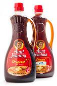 Aunt Jemima Brand Original and Lite Syrup