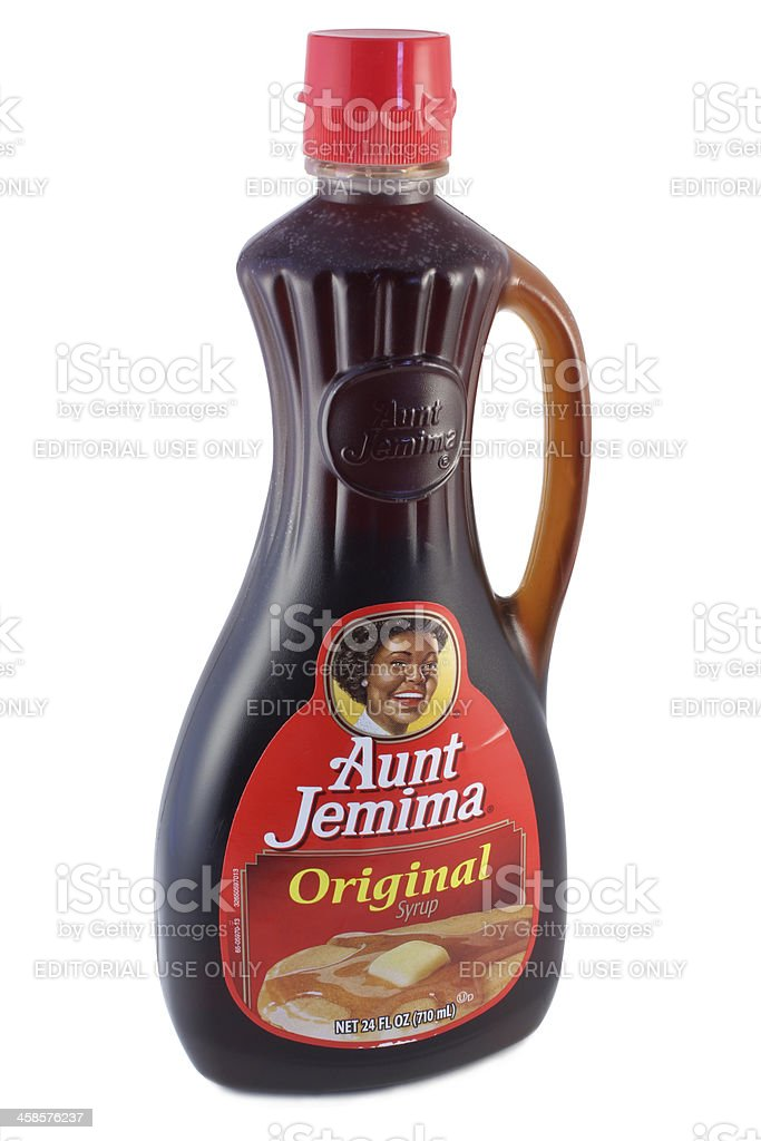Aunt Jemima Original Syrup stock photo