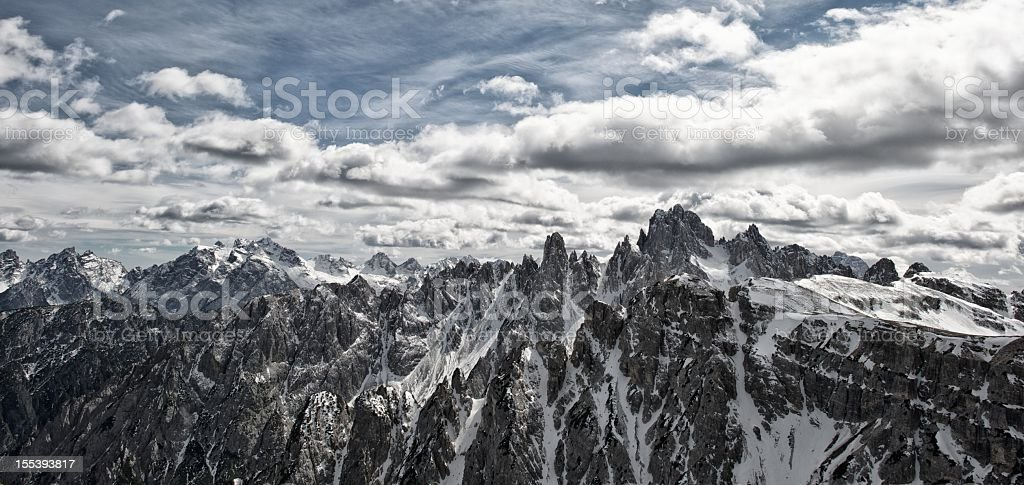 Auronzo di Cadore stock photo