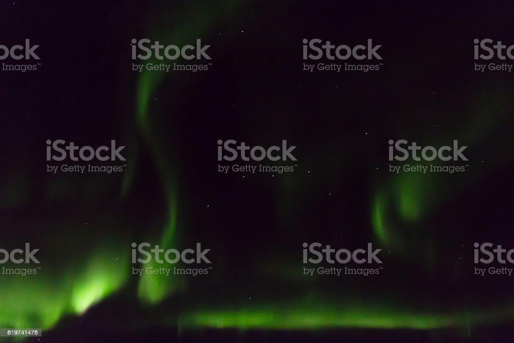 Aurora Borealis and Ursa Major stock photo