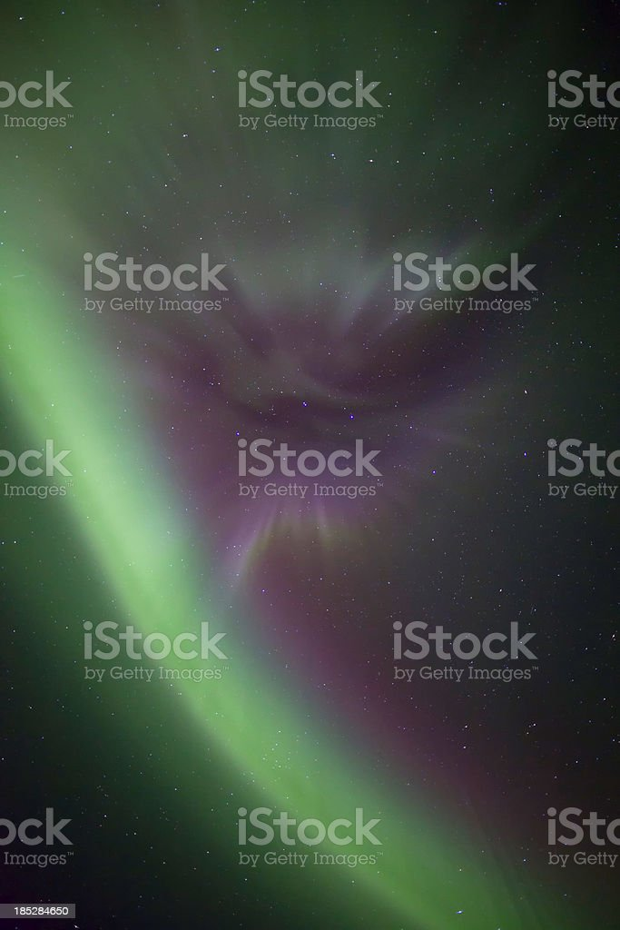 Aurora Borealis Corona royalty-free stock photo