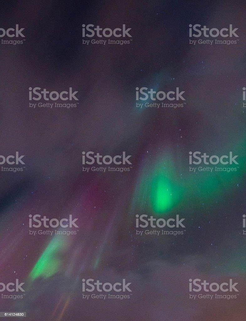 Aurora Borealis in Tromso, Norway stock photo