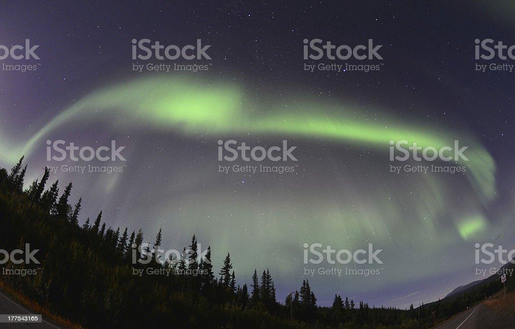 'Aurora Borealis, Northern Lights' stock photo