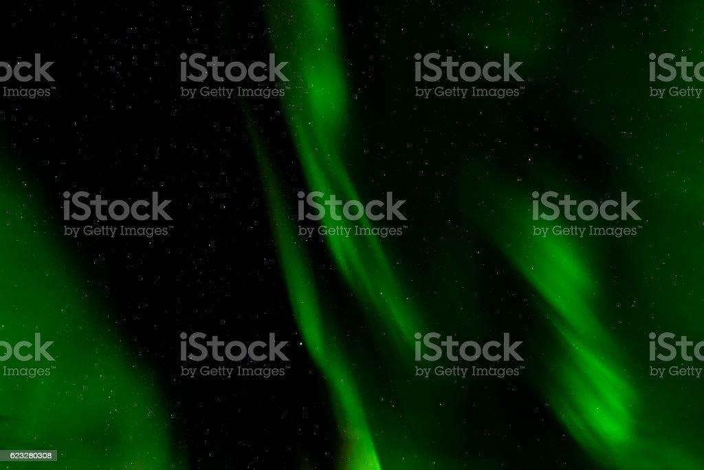 Aurora borealis or northern lights, Norway stock photo