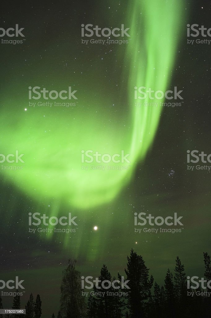Aurora Borealis royalty-free stock photo
